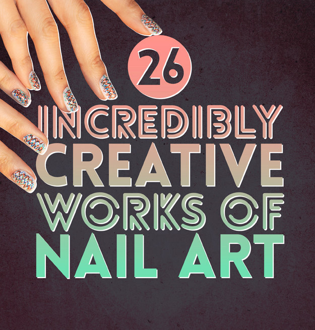 26가지 기발한 네일 아트 콜렉션