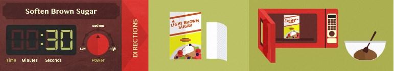 microwave7-soften brown sugar