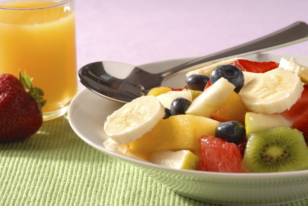 breakfast with juice