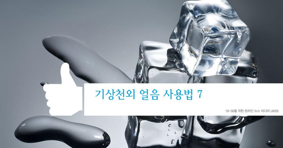 기상천외 얼음 사용법 7