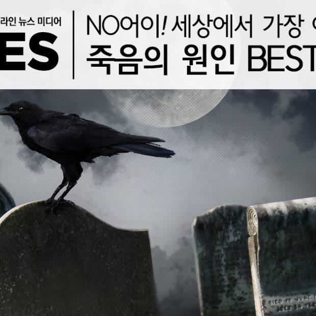 NO어이! 세상에서 가장 어이없는 죽음의 원인 BEST 6